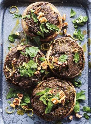 Luke Hines stuff mushroom recipe