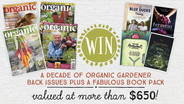 Win a decade of Organic Gardener magazines
