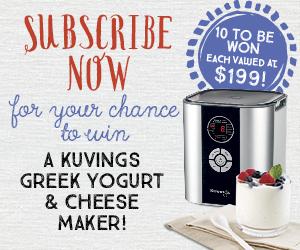 Kuvings Yogurt and Cheese Maker