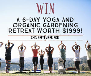 Yoga and gardening retreat