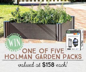 Holman garden pack