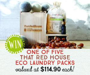The Red House Eco Laundry pack