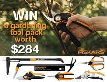 WIN a garden tool pack from Fiskars
