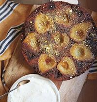 125 Pear, Walnut and Nutmeg cake by Sophie Hansen