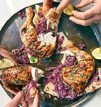 119 Falastin: Chicken Musakhan by Jenny Zarins