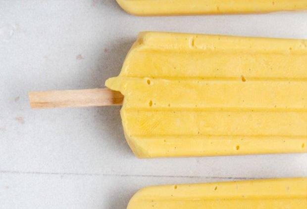 Mango-coconut creamsicle