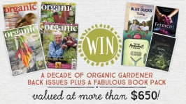 Win a decade of Organic Gardener magazines
