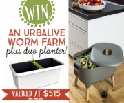 Win an Urbalive worm farm!