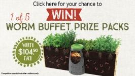 Win a Tumbleweed worm farm buffet