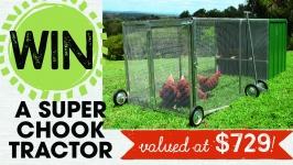 Win a Super Chook Tractor