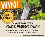 Win a Wolf-Garten gardening pack!