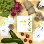 Urban Greens styled salad kit