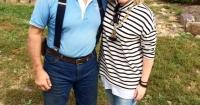 Joel Salatin and Rebecca Sullivan