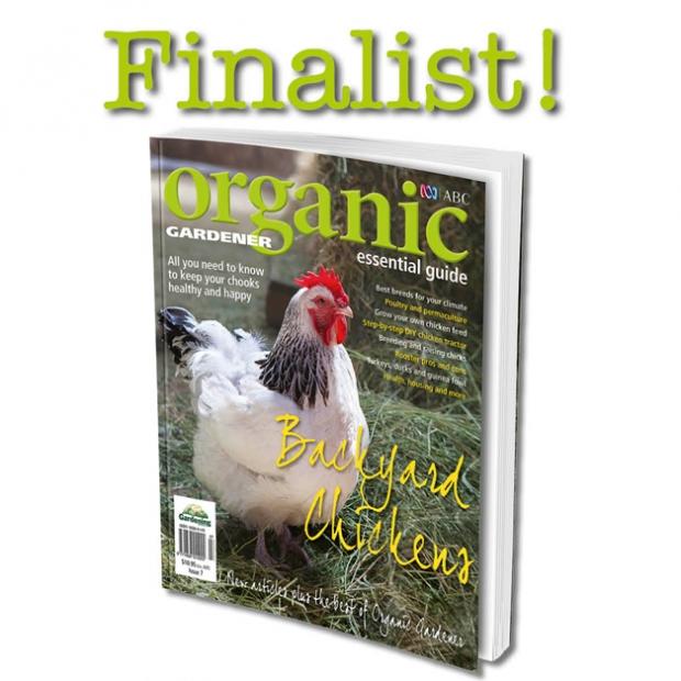 backyard chickens recognized by peers organic gardener magazine