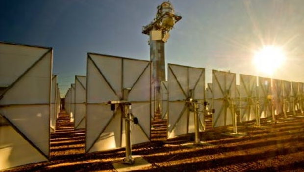 The CSIRO's Newcastle solar thermal station