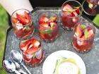 Wattleseed Balsamic Strawberries