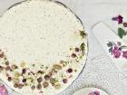 wattleseed and lemon myrtle cheesecake