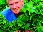 Peter Cundall and 'Two Peters' kale