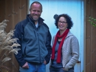 Peter Cooper and Karen Hall who together designed and created Wychwood.