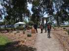 Festival day at Jindivik community garden in Victoria