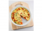 Organic cooking is easy - try our Organic Vegie Frittata