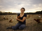 Madelaine Scott triple j 25 under 25 winner organic egg farmer