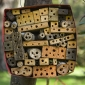 A homemade hive made of untreated timber will attract native bees.